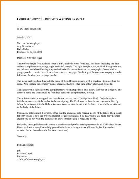 6 letter correspondence format ledger paper