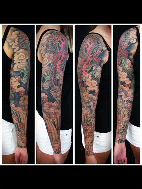 asian tattoo sleeve japanese white tattoos