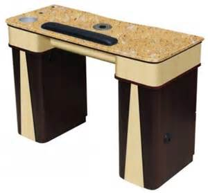 salon furniture manicure table with vent model