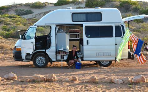 Toyota Hiace High Top Campervan Sale   Travellers Autobarn