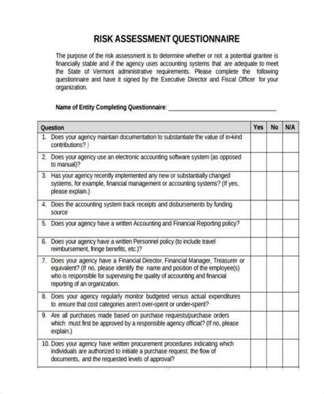 technology assessment report template assessment questionnaire template information technology