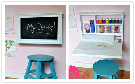 diy craft down how to make diy flip wall desk step by step diy tutorial how to