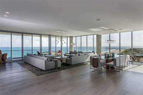 Two Story Penthouse Apartment In See Inside This Two Story Penthouse Overlooking Miami