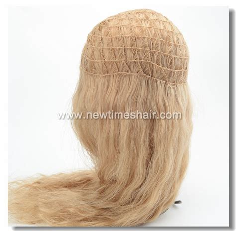 wiglets you can weave your own hair through blonde hair integration system made by newtimes hair
