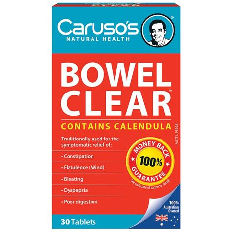 Caruso S Sugar Detox by Buy Carusos Health Cleanse Bowel Clear 30