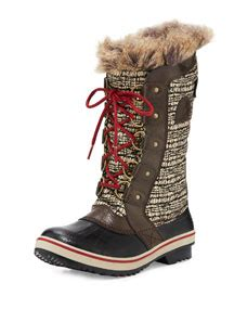 Tofino Cate Quilted Boot by Sorel Tofino Ii Fur Trim Quilted Boot Cordovan