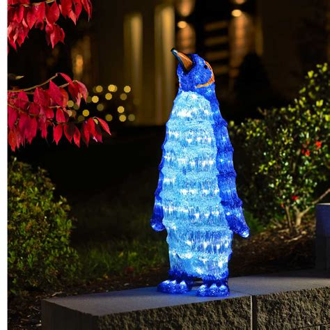 Large Decorations by Konstsmide 6118 203 Acrylic Led Large Penguin