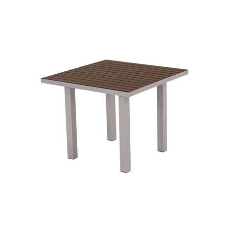 Square Patio Table Hton Bay Pembrey 40 In Square Patio Dining Table Hd14210 The Home Depot