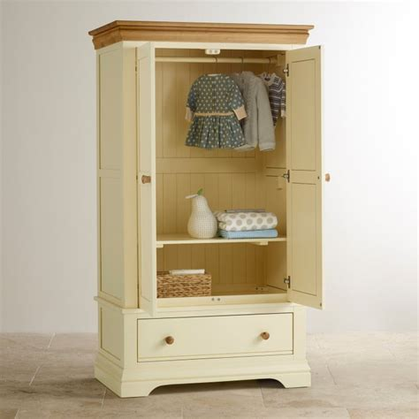 country cottage furniture company country cottage nursery wardrobe in painted oak