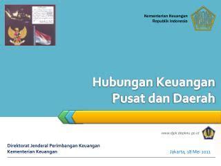 Hubungan Keuangan Antara Pemerintah Pusat Daerah ppt hubungan kantor pusat dan cabang powerpoint presentation id 3158861