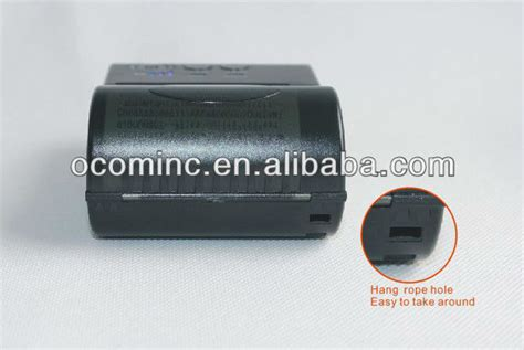 Printer Bluetooth Blue Bamboo ocpp m03 small mobile bluetooth printer battery powered