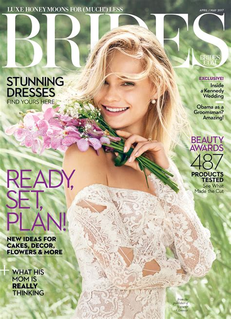 Brides Magazine by The Brides April May 2017 Issue Aka The Engaged S