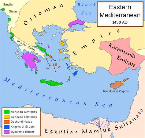 ottoman empire 1453 file eastern mediterranean 1450 svg wikipedia