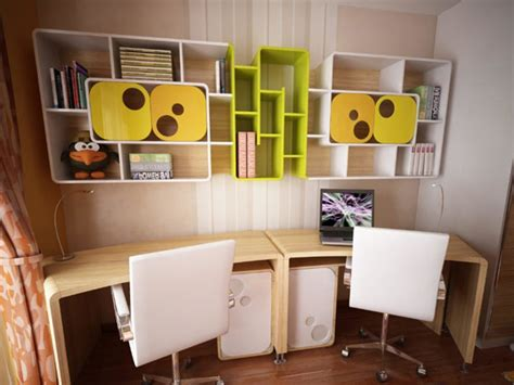 study table ideas creative storage design ideas for with study table