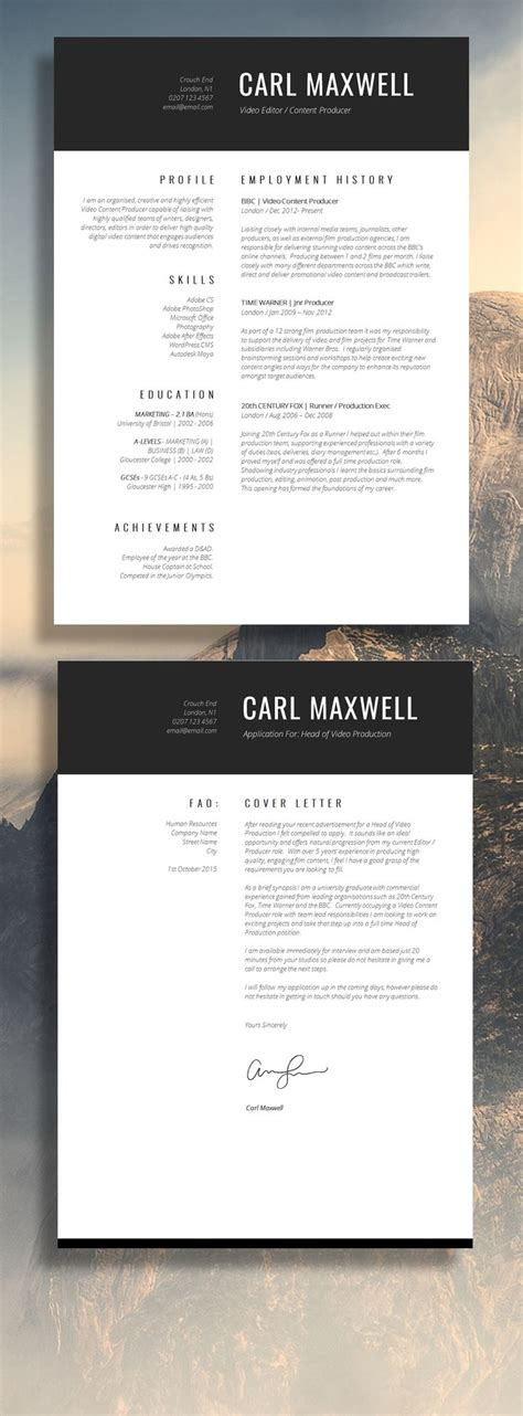 E Resume Website Template by 190 Best Images About Resume Design Layouts On