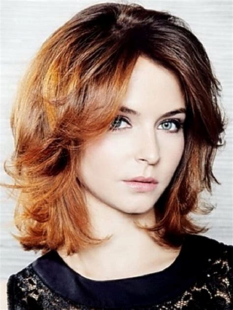 casual hairstyles for medium thick hair trendy casual medium length wavy hairstyles long