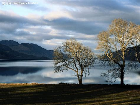 imagenes de paisajes que den paz 苏格兰没有水怪的尼斯湖摄影图 国外旅游 旅游摄影 摄影图库 昵图网nipic com