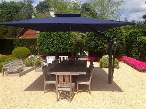 Patio Umbrellas Uk 25 Best Ideas About Cantilever Umbrella On Shade Umbrellas Deck Umbrella And Pool