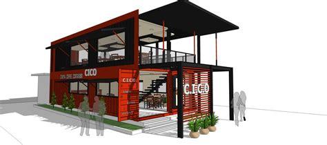 interior design container cafe eksterior project alfonsa design