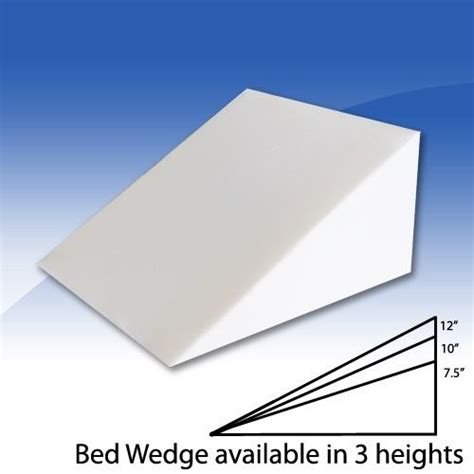 foam wedge bed pillow foam bed wedge pillow cushion with cover 3 size opitions