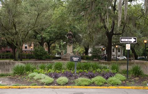 bench scene day 45 of papiblogger road trip explores savannah s