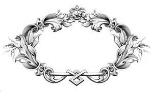 baroque ornaments frame vector vector frames amp borders