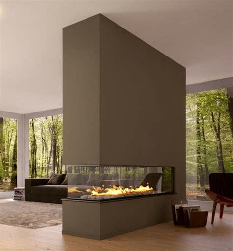wohnzimmer mit kamin 42 kreative raumteiler ideen f 252 r ihr zuhause archzine net