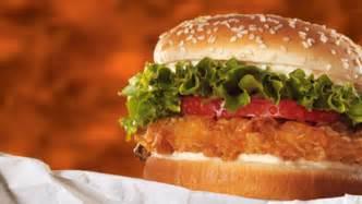 Crispy Burger Ch Crispy Chicken Instead Of Cheese