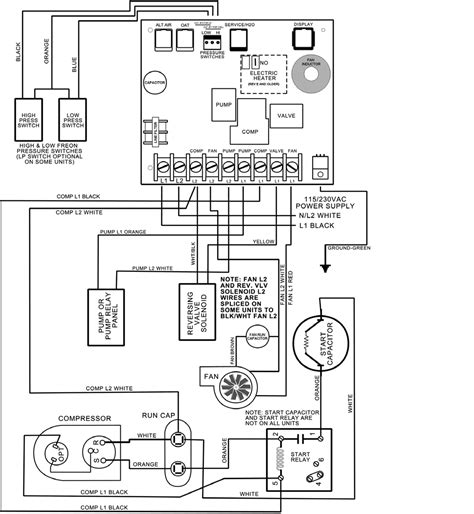 coleman air conditioner thermostat wiring diagram wiring