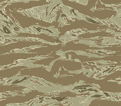 Tiger Camo tiger stripe camo pattern