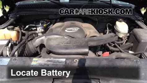 2002 cadillac battery replacement battery replacement 2002 2006 cadillac escalade 2003