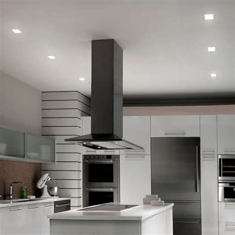 4 square led lights kitchen with wac lighting hr led451tl 4 quot square led