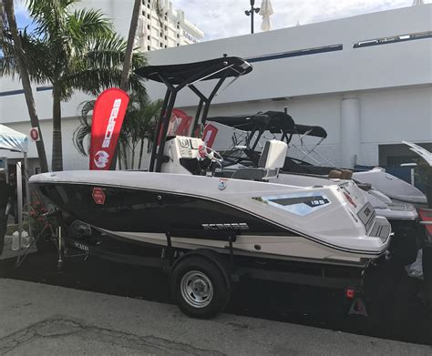 scarab boats 195 open five great new boats from the fort lauderdale