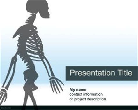 anatomy powerpoint template