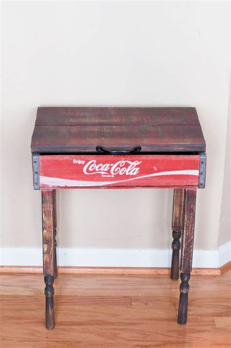 coca cola bench 17 best ideas about crate end tables on pinterest