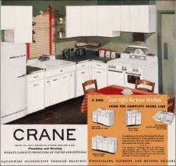 kitchen ads 1940s retro kitchen design 1949 crane plumbing kitchen ads design inspiration from the mid