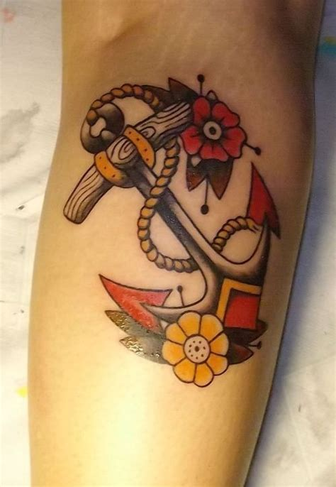 american traditional anchor tattoo 53 best traditional anchor images on