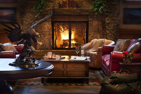 Fireplace Wyoming by New Yellowstone Winter Different Package At Jackson