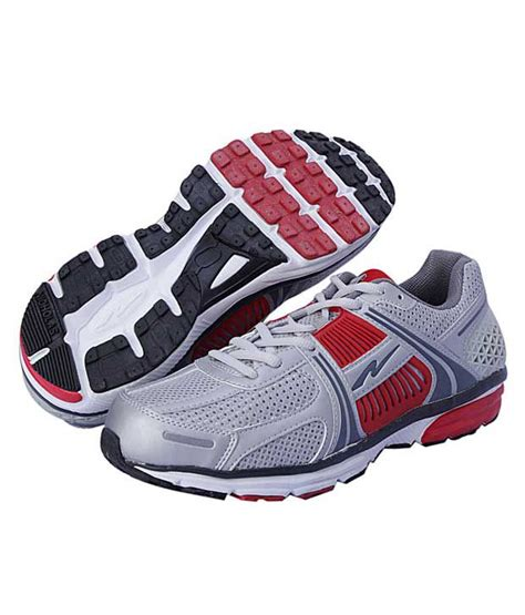 nicholas sports shoes nicholas vigorous grey sports shoes price in india