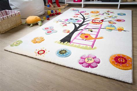 teppiche kinder kinderteppich modena tiere on tour global carpet