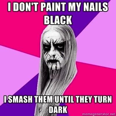 Black Metal Meme - funniest black metal versions of famous memes