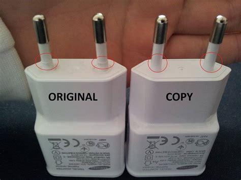 Merk Hp Samsung Lipat cek perbedaan charger hp samsung asli dan palsu info