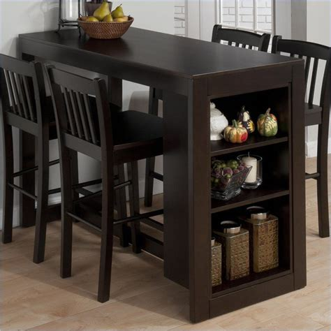Table With Storage Stools by Dining Table Use With Existing Bar Stools Jofran