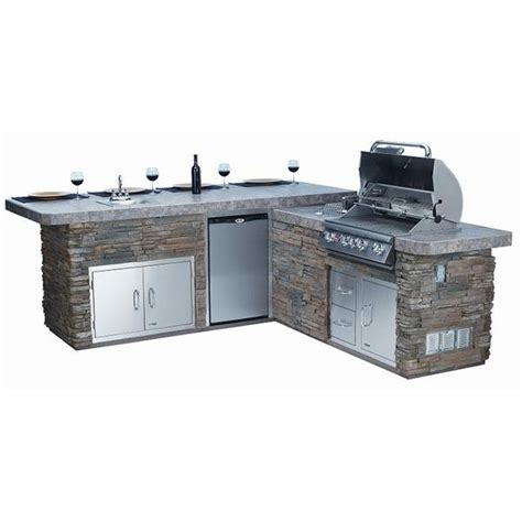 bull outdoor master q grilling island woodlanddirect com bull outdoor gourmet q grilling island w built in grill