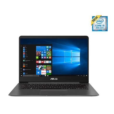 asus zenbook 14 quot laptop grey intel i5 8250u