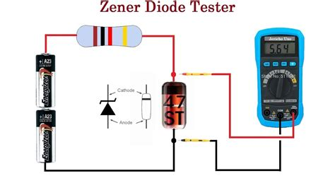 Comment Tester Une Diode 5387 by Zener Diode Tester Cheap And Reliable Up To 24v