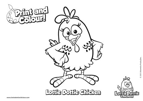 funny chicken coloring page coloring pages lottie dottie chicken official website