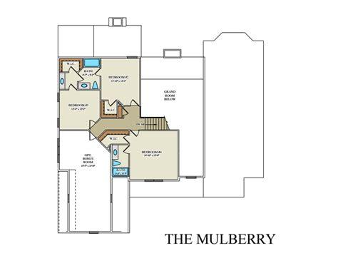 mulberry floor plan mulberry custom floor plan best builder frederick county va