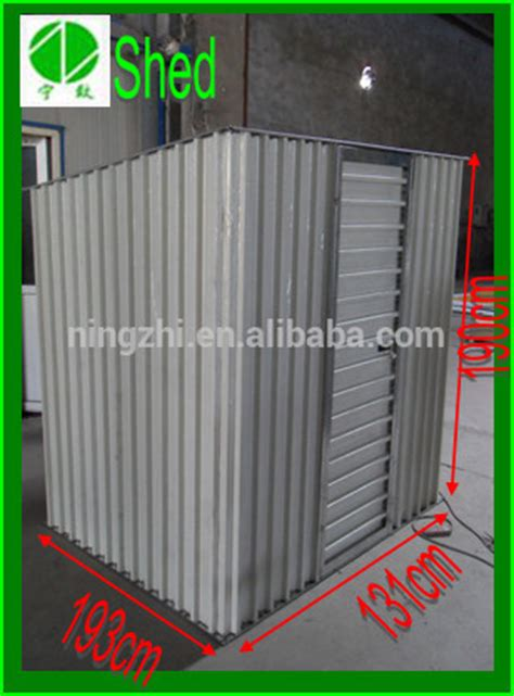 small metal storage containers wholesale 6 x4 small lean to shed green prefab backyard