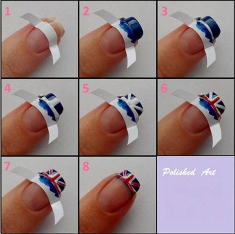 easy nail art designs step by step 15 easy step by step new nail art tutorials for